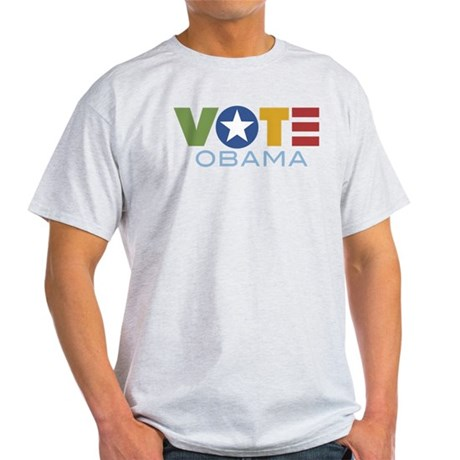 Vote Obama Light T-Shirt