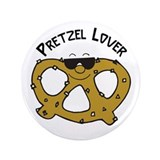 "Pretzel Lover 3.5"" Button"
