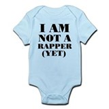 Not a rapper Infant Bodysuit