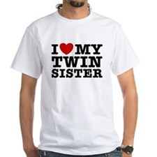 I Love My Twin Sister Shirt