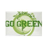 Funny Earth friendly Rectangle Magnet (10 pack)