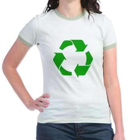 Recycle Jr. Ringer T-Shirt