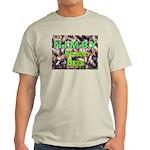 NIMBY Killer Bees Ash Grey T-Shirt