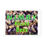 NIMBY Killer Bees Postcards (Package of 8)