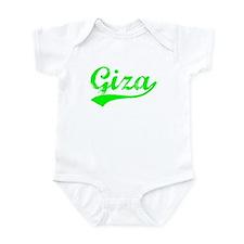 Vintage Giza (Green) Infant Bodysuit