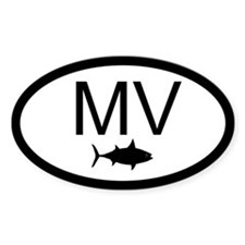 "False Albacore Destination"" Oval Decal"