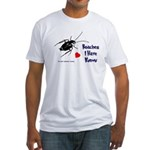 Roaches I Have Known Fitted T-Shirt