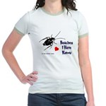 Roaches I Have Known Jr. Ringer T-Shirt