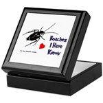 Roaches I Have Known Keepsake Box