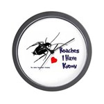 Roaches I Have Known Wall Clock