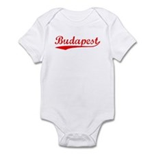 Vintage Budapest (Red) Infant Bodysuit
