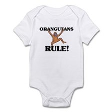 Orangutans Rule! Infant Bodysuit