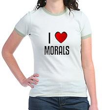I LOVE MORALS T