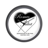 Romeo and Juliet 1 Wall Clock