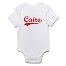 Vintage Cairo (Red) Infant Bodysuit