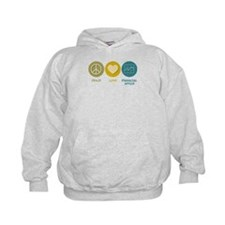 Peace Love Financial Advice Hoodie