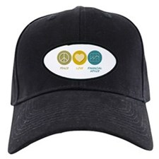 Peace Love Financial Advice Baseball Hat