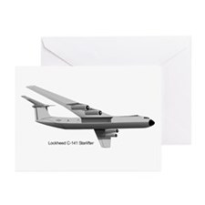 C-141 Starlifter Greeting Cards (Pk of 20)