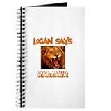 Logan says raaawr Journals