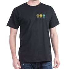 Peace Love Family Practice T-Shirt