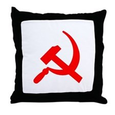 Hammer & Sickle Throw Pillow