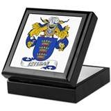 Esteban Family Crest Keepsake Box