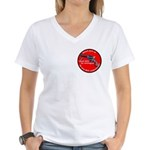 INfringement-4b Women's V-Neck T-Shirt