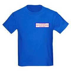 Infringement-4b Kids Dark T-Shirt