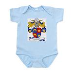Fabra Family Crest Infant Creeper