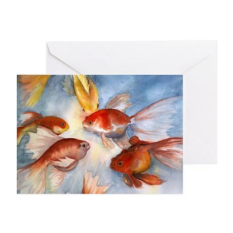Goldfish Greeting Cards (Pk of 10)