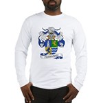 Fernandez Family Crest Long Sleeve T-Shirt