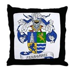 Fernandez Family Crest Throw Pillow