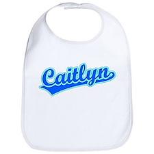Retro Caitlyn (Blue) Bib