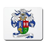 Ferrandez Family Crest Mousepad
