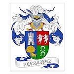 Ferrandez Family Crest Small Poster