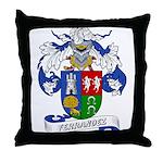 Ferrandez Family Crest Throw Pillow