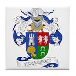 Ferrandez Family Crest Tile Coaster