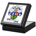 Ferrandez Family Crest Keepsake Box