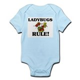 Ladybugs Rule! Infant Bodysuit