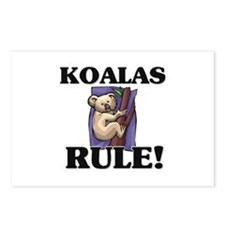 Koalas Rule! Postcards (Package of 8)