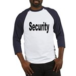 Security (Front) Baseball Jersey
