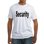 Security Fitted T-Shirt
