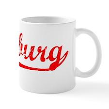 Vintage Duisburg (Red) Mug