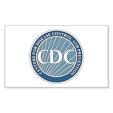 DESEASE-CONTROL-CENTERS Rectangle Decal