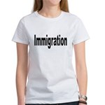 Immigration (Front) Women's T-Shirt