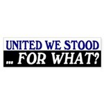 United We Stood (bumper sticker)
