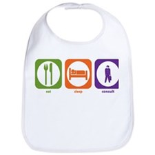 Eat Sleep Consult Bib