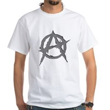Anarchy Symbol (silver) Shirt