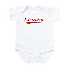 Vintage Edmonton (Red) Infant Bodysuit