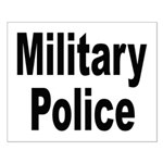 Military Police Small Poster